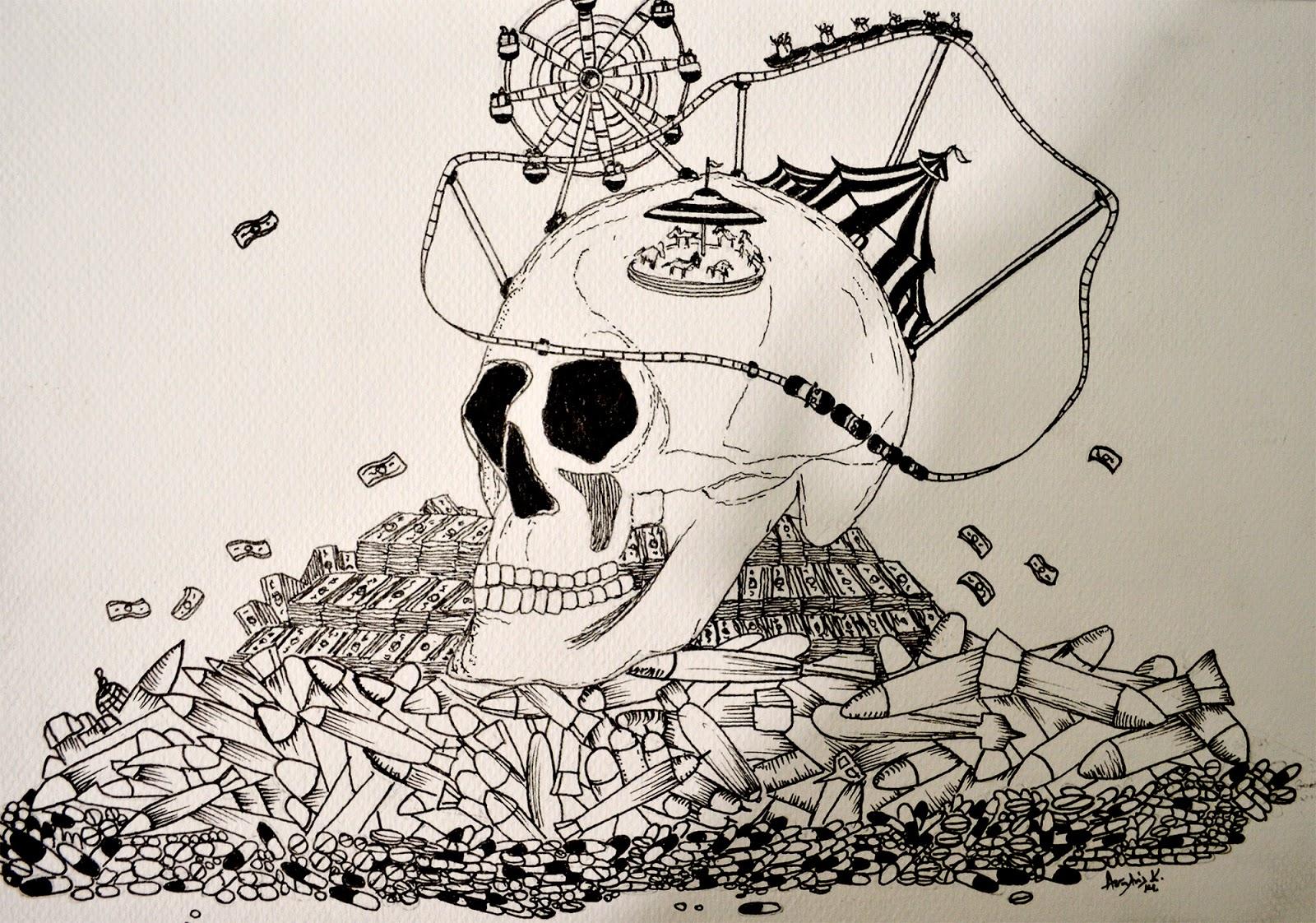 90c48d547cf Kostis Atsalis / Artwork: Luna Park of Death