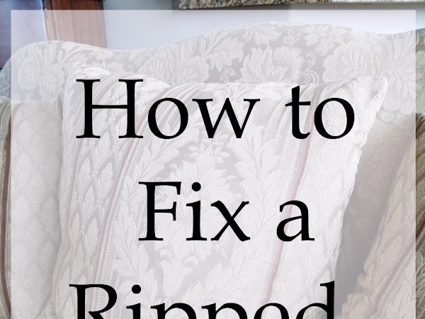 How to Fix a Ripped Pillow