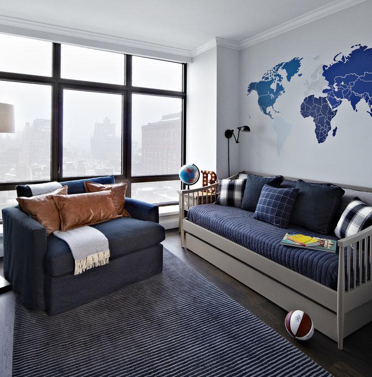 habitación de niño diseño interiores