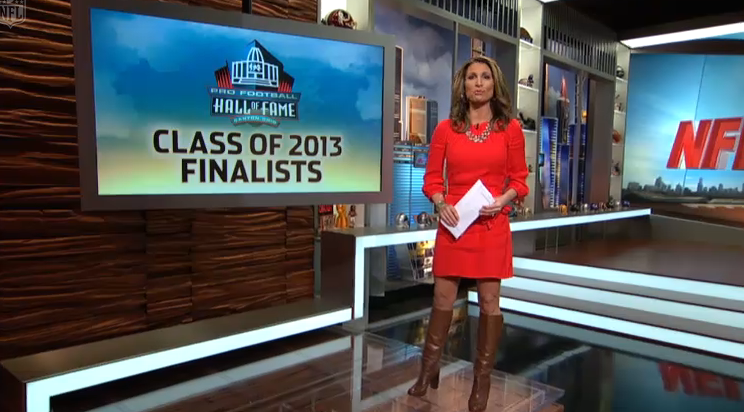 Nicole Zaloumis Nfl Network The Appreciation Of Booted