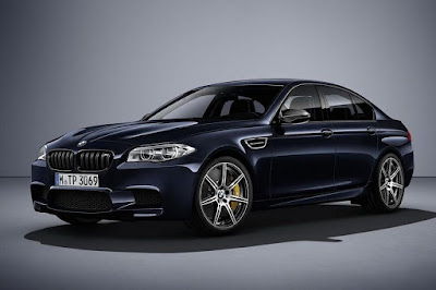 BMW M5 Competition Edition (2016) Front Side