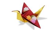 Gấp, xếp Chim hạc giấy đựng kẹo