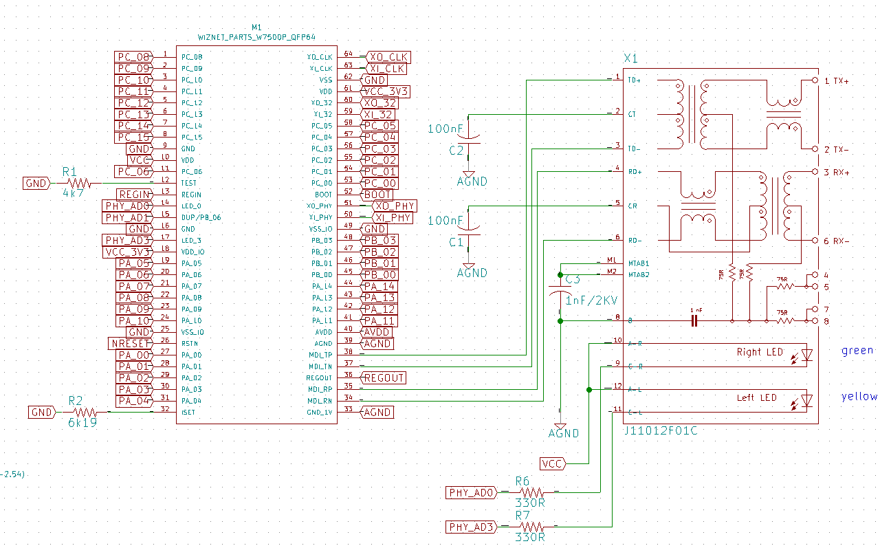 Adventures Of A Tech Raspberry Pi Pyface Digital The Lost Googling Around I Find Schematics Like This Some Parts Had To Be Designed Schematic And Footprint Design Circuit Board 4 Layer Taking Into Account Rules Emi Issues