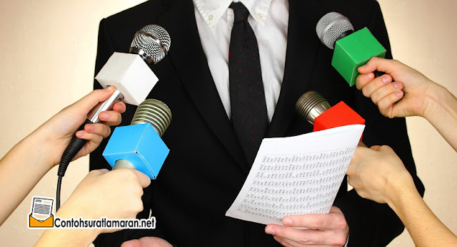 Contoh Surat Lamaran Kerja Sebagai Reporter