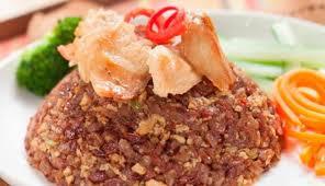 Membuat Nasi Goreng Beras Merah 1