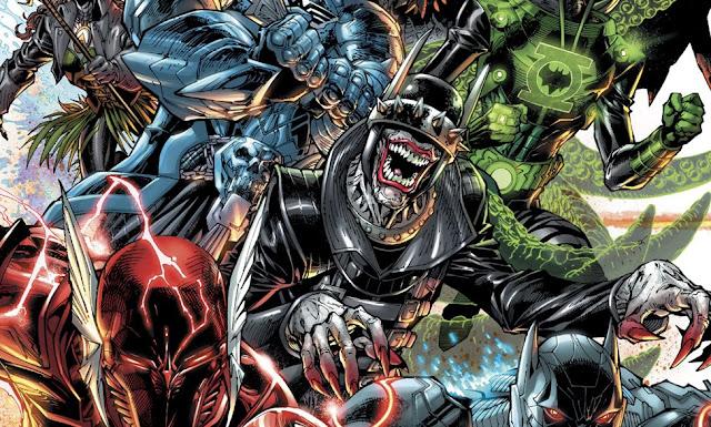 cerita Dark Nights: Metal, Pengenalan Dark Multiverse dan Kemunculan 7 Batman Jahat