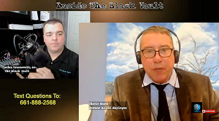 Chris Marx on AAWSAP, BAASS and The Skinwalker Ranch – Inside The Black Vault, with John Greenewald