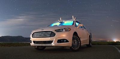 Τo αυτόνομο Ford Mondeo