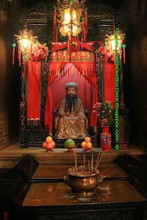 God of Wealth, Tin Hau Temple, Aberdeen, Hong Kong