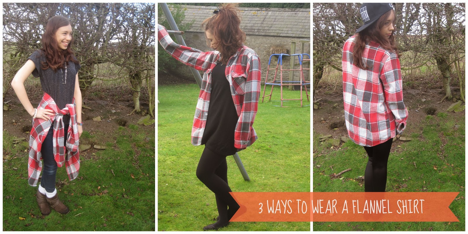 28ba236c 3 Ways to Wear'- Flannel Shirt | Barefoot Bravery