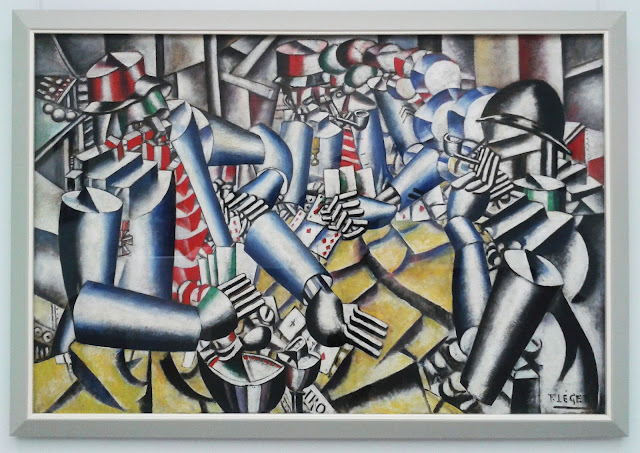 fernand léger soldiers playing cards 1917