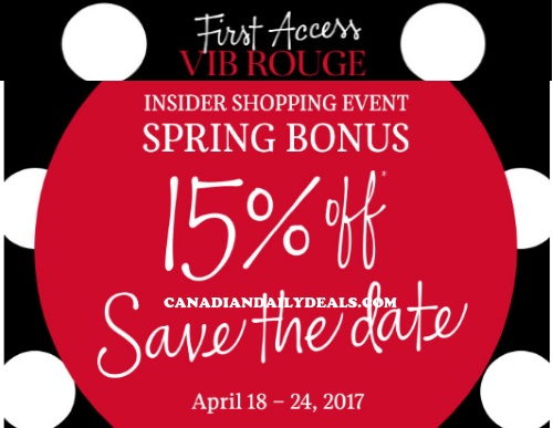 Sephora 15% Off Spring Bonus Insider Shopping Event