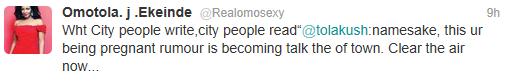 omotolapregnancy+rumours+lindaikejiblog Omotola clears up pregnancy rumours