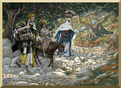 """The Return from Egypt"" -- by James Tissot"