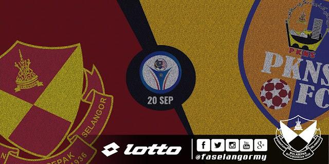 Live Streaming Selangor Vs PKNS FC Liga Super 20 September 2017