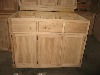 click kitchen cabinets blue ridge surplus hickory unfinished cabinets 2253