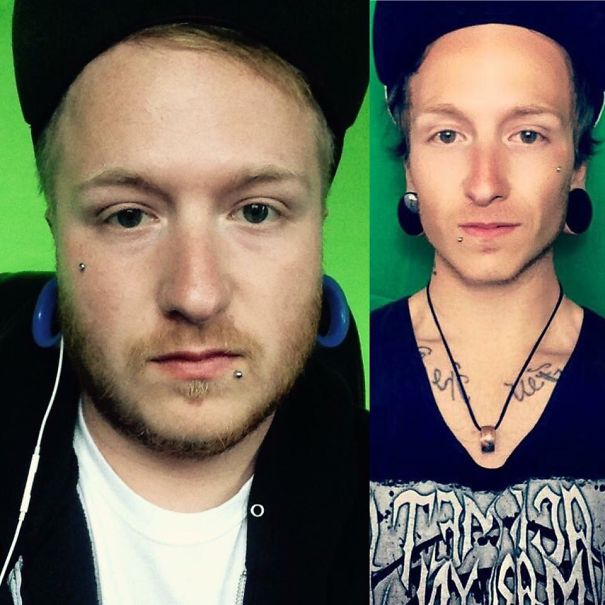 10+ Before-And-After Pics Show What Happens When You Stop Drinking - 8 Months Sober