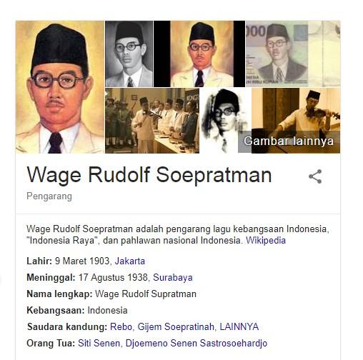 18 Fakta Menarik Tentang W.R Supratman Salah Satu Pahlawan Indonesia