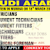 Saudi Arabia Large Recruitment 2017