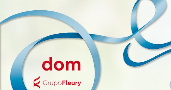 Imagem da Logomarca da DOM Grupo Fleury - Ongs baianas de saúde concorrem a um total de R$80 mil