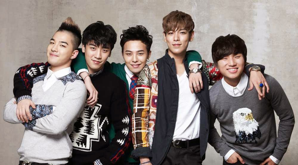 Wallpaper Boyband Big Bang