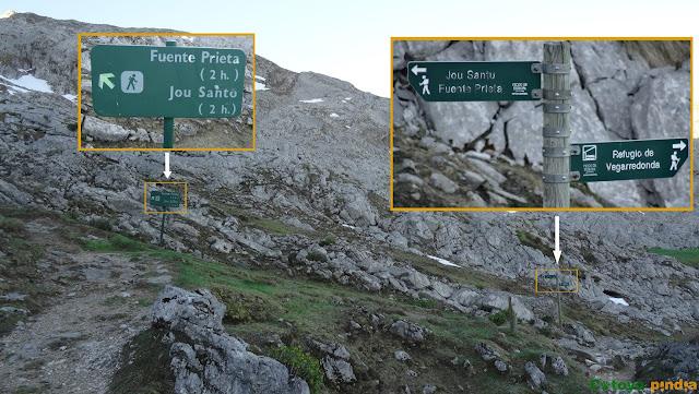 Ruta circular al Pico de Los Asturianos, Canal Parda y Traviesos en el Macizo del Cornión de Picos de Europa, regresando por Reseco
