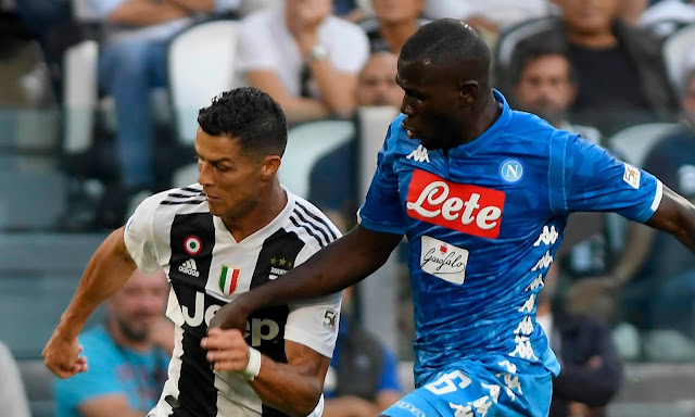 Cristiano Ronaldo Offers Support to Koulibaly