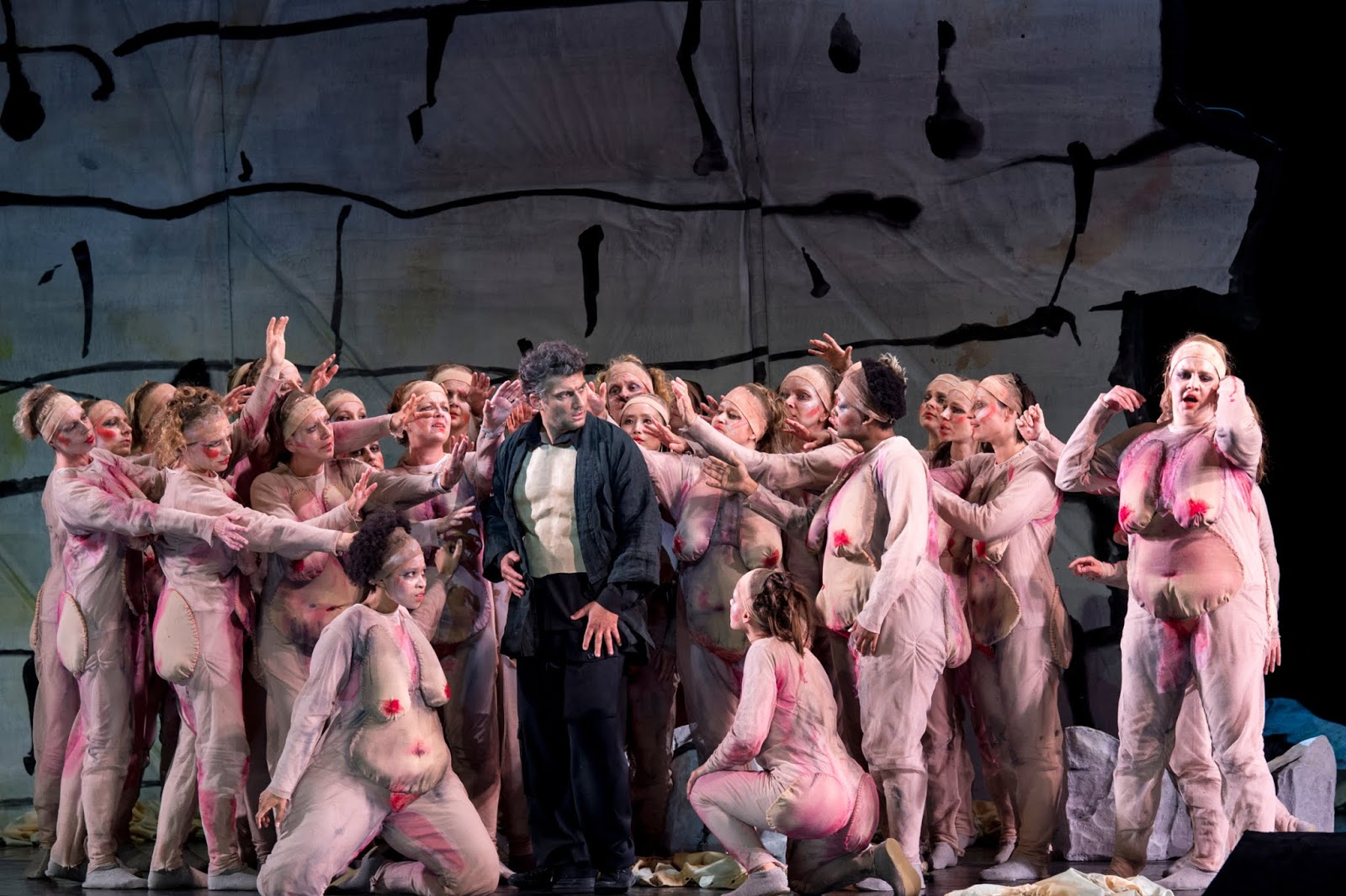 Jonas Kaufmann as Wagner's Parsifal at the Munich Opera Festival