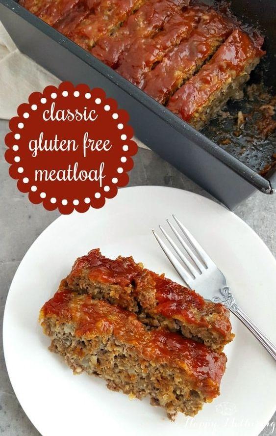 Classic Gluten Free Meatloaf Recipe