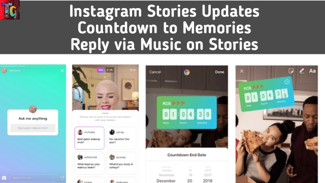 Instagram Stories update: Adds Reply with Music and Countdown to Memories