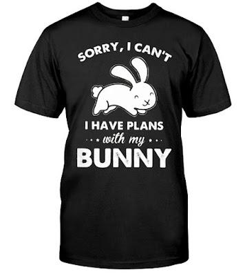 Sorry I Can't I Have Plans With My Bunny T Shirts Hoodie Sweatshirt
