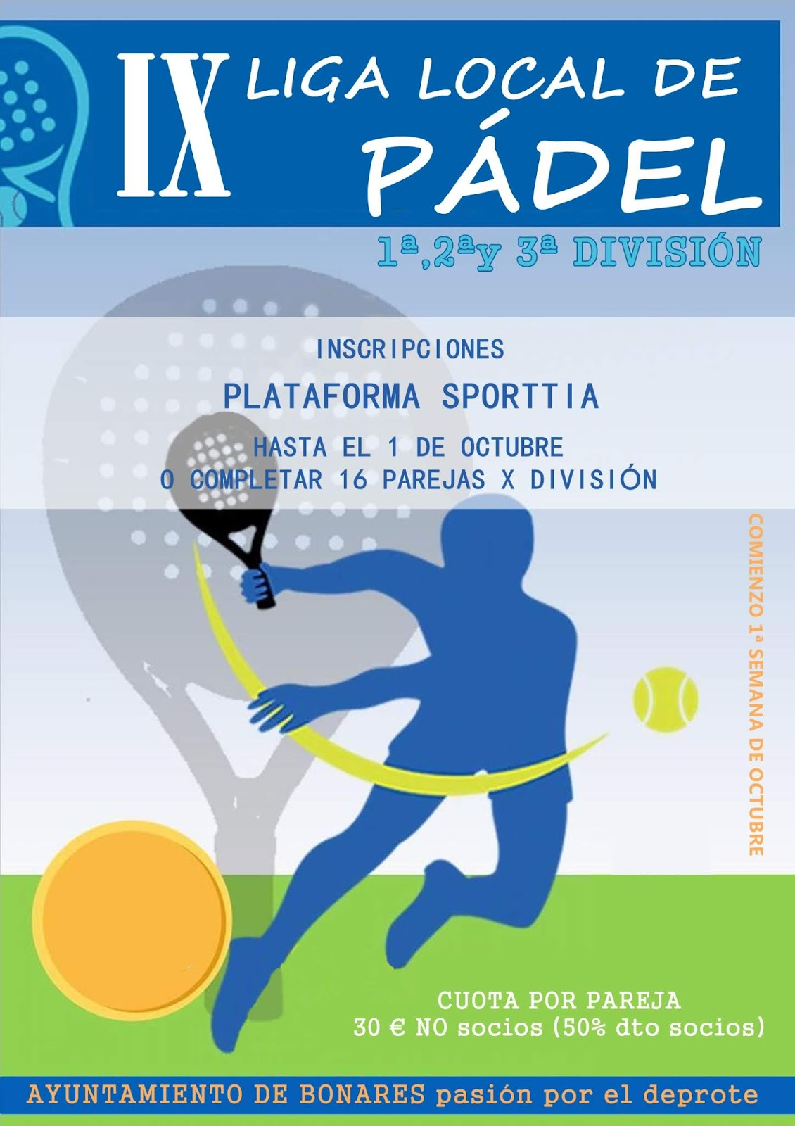IX LIGA LOCAL DE PÁDEL