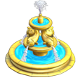 castleville gold fountain gift