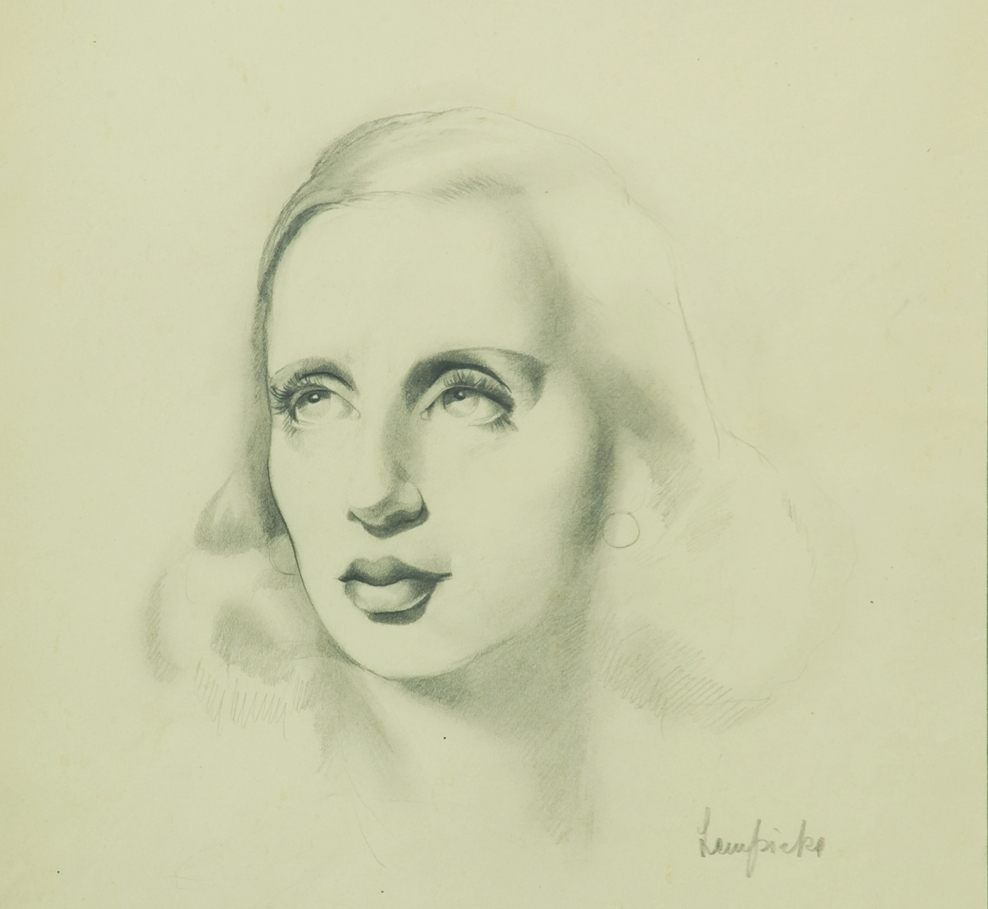 Tamara  de  Lempicka  Autoritratto C