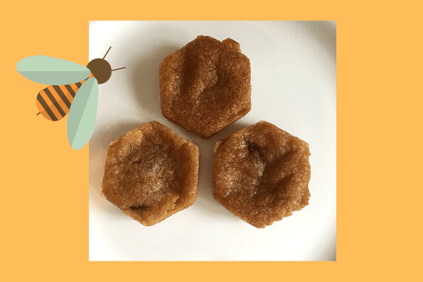 hexagon honeycomb biscuits