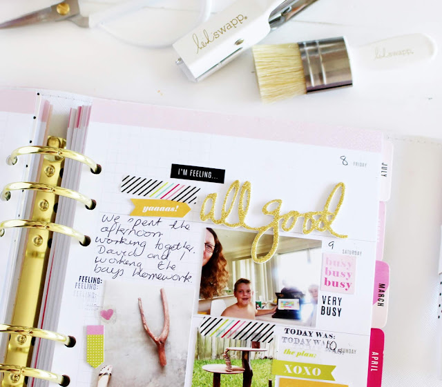Heidi Swapp Minc Glitter sheets