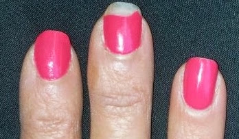 chipped polish