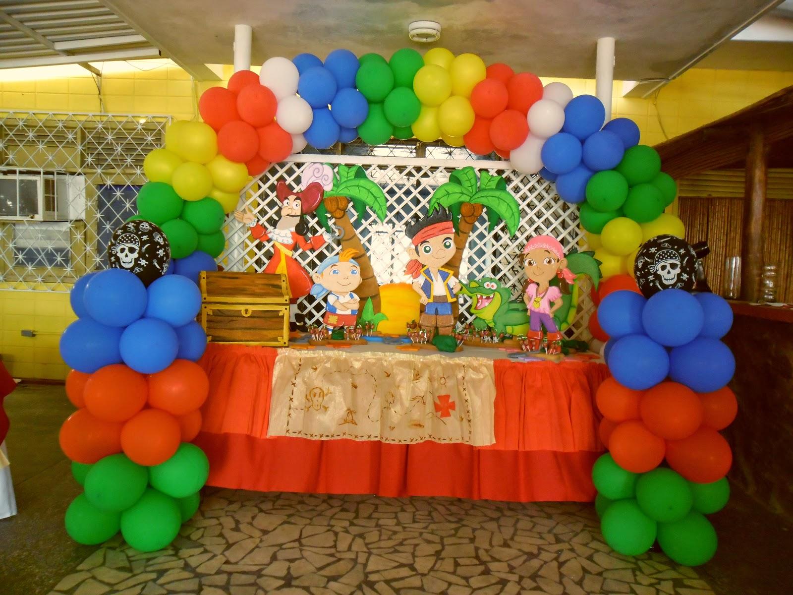 Fiesta Infantil Decorado Pirata