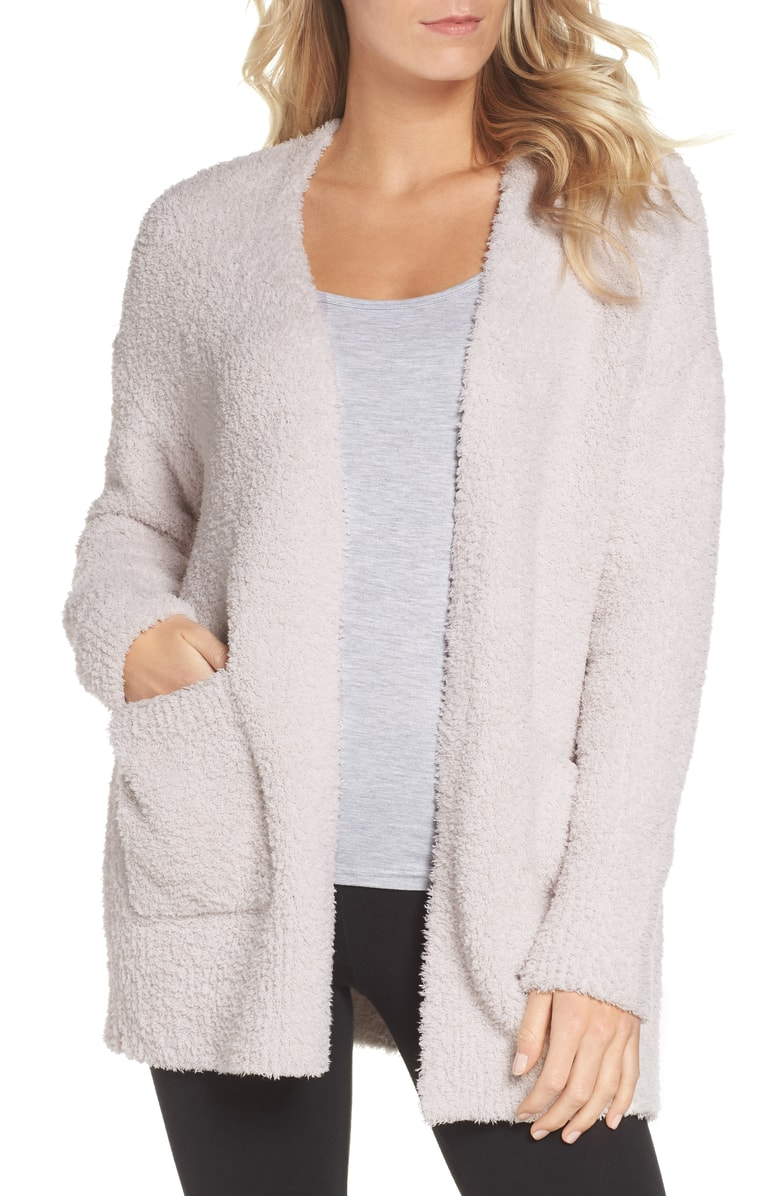 barefoot dreams cardigan