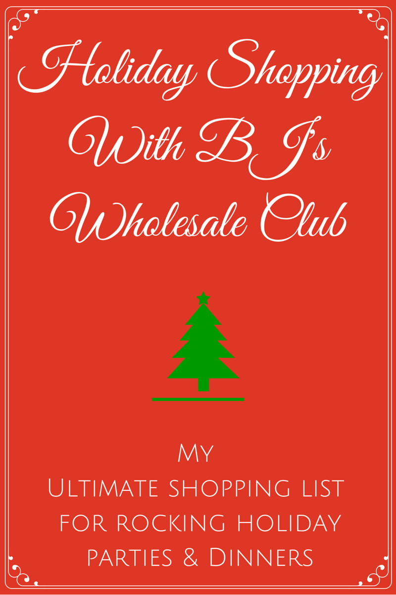 And let me tell yu0027all BJu0027s has one of the best selections in terms of food. Meats cheeses fresh produce and more.  sc 1 st  YUMMommy & Holiday Shopping With BJu0027s Wholesale Club: My Ultimate Shopping List ...