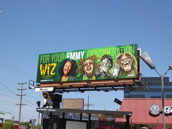 Wiz Live 2016 Emmy FYC billboard