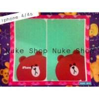 Hasil Cetak sticker, skotlet,   gambar tempel skin hp  Apple atau Iphone 4 atau 4 S