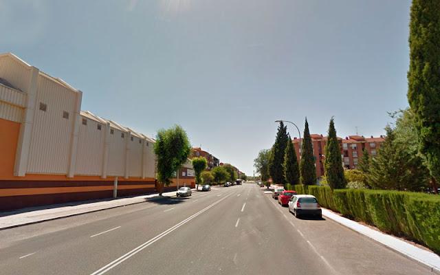 Calle Río Alberche, Toledo, donde fueron sorprendidos los delincuentes