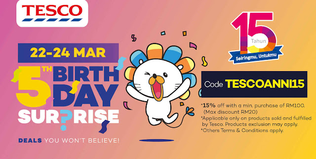 Lazada Voucher Code Tesco Malaysia Discount Promo
