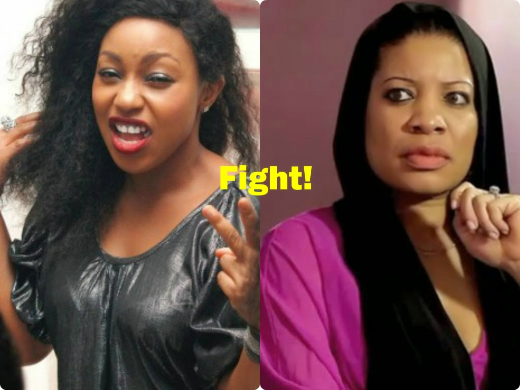 rita dominic monalisa chinda fighting