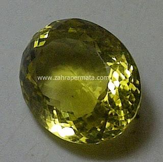 Batu Permata Lemon Quartz - ZP 439