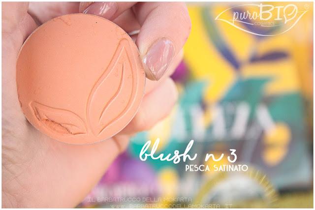 blush 3 pesca satinato purobio recensione review