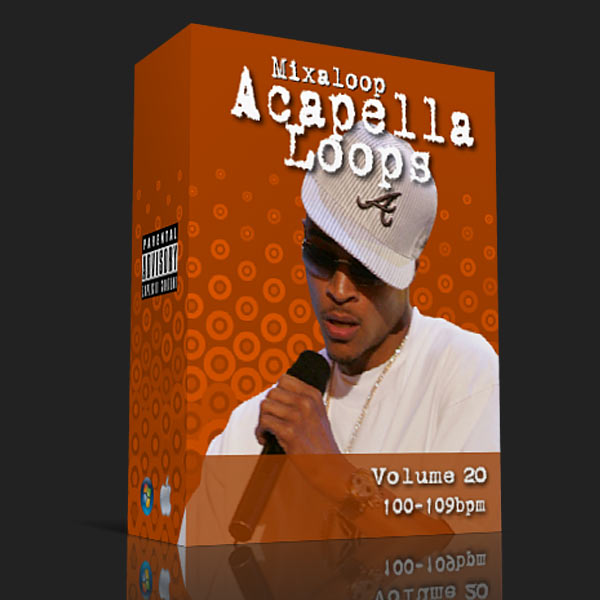Mixaloop Acapella Loop Pack - Volume 20 (100-109BPM) | DJ MHYKE