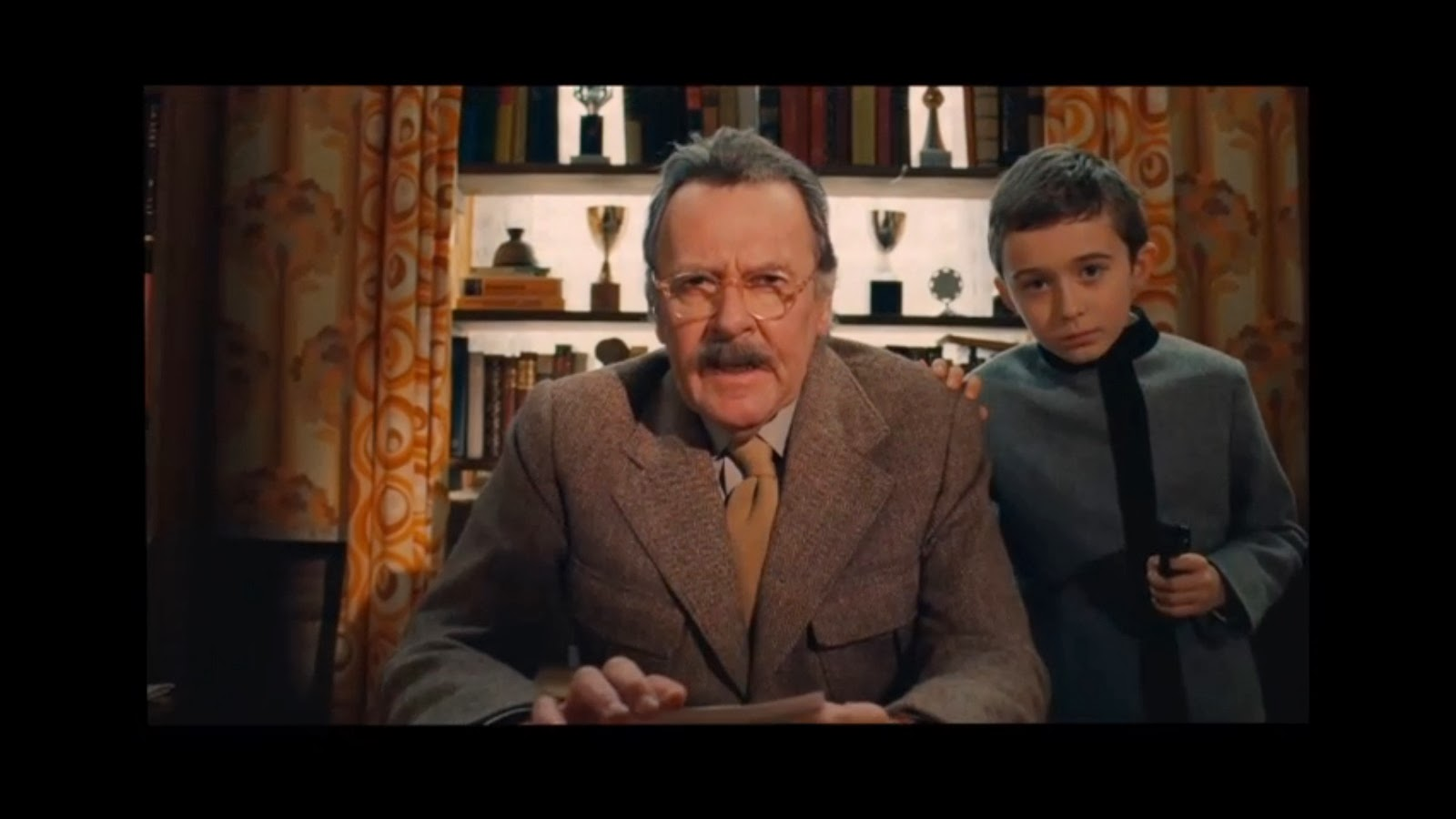 Tom Wilkinson only gets two minutes of screentime in 'The Grand Budapest Hotel,' but his lines speak volumes about Anderson's cinematic allure. (Fox Searchlight)