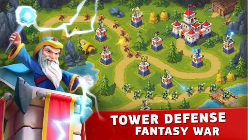 Download Toy Defense Fantasy Mod Apk Unlimited Money